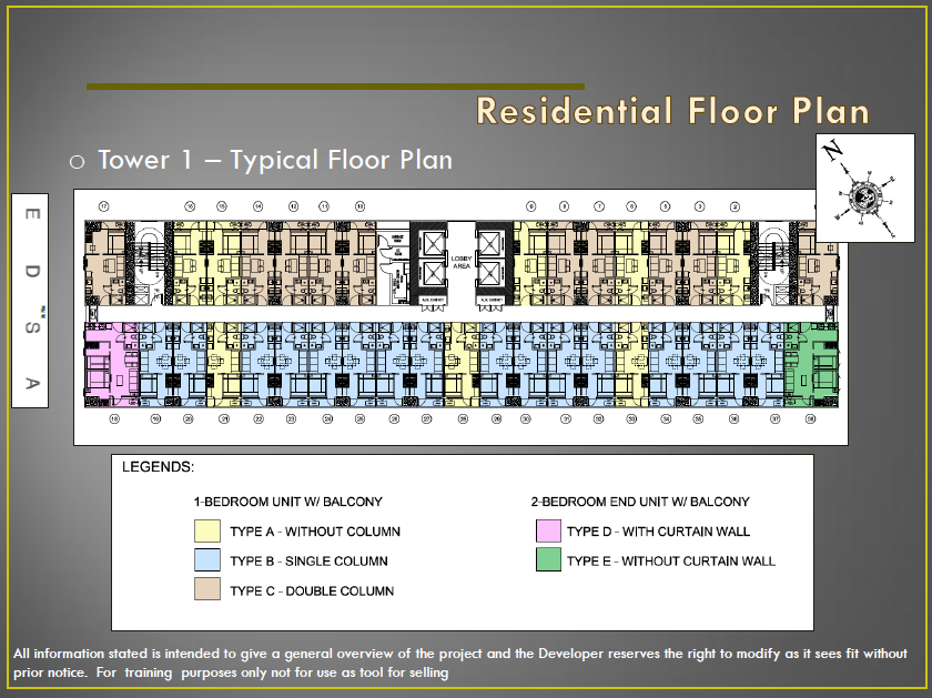 Smdc Fame Residences General Overview